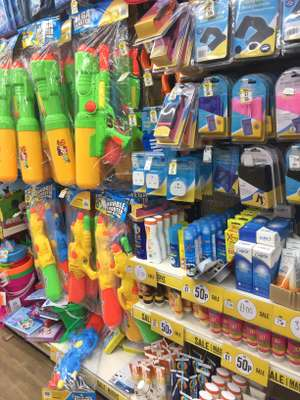 Poundworld Sale many items half price from 50p Rothwell Leeds