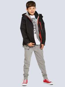 V by Very Double Tech Zip Jacket with Fleece Lining 6yrs - 16yrs now from £15.50 C+C @ Very