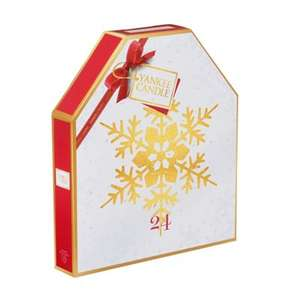 Yankee Candle Snowflake Advent Calendar (was £24.99) Now £9.99 C&C at Very