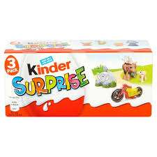 Kinder surprise 2x box of three for £3 instore @ Tesco