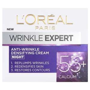L oreal anti wrinkle over 55s usually £10 now £2 - poundland Beaumont leys leicester