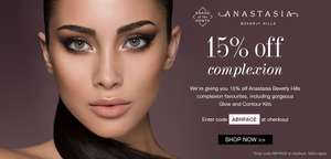 15% off Anastasia Beverly Hills with code @ Cult Beauty