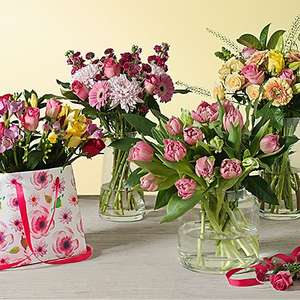 Get free chocolate worth £6 when you purchase flowers.