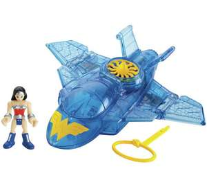 Imaginext Wonder Woman & Invisible Jet @ Argos - £6.99