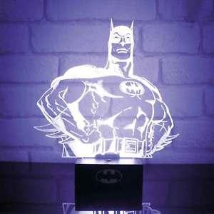 DC Comics Batman 3D Light £9.99 delivered @  ParadisoClothing / Ebay