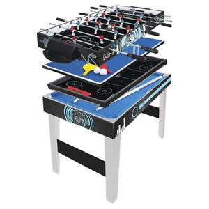 fcc02ba5225 Hy-Pro 3ft 4-in-1 Multi Games Table Football Pool Tennis   Hockey ...