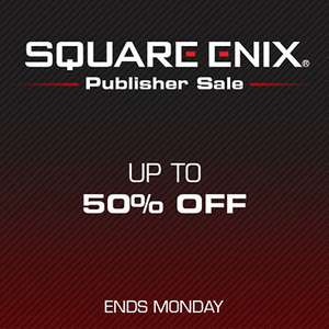 Square Enix Publisher and Call of Duty Sales at PlayStation PSN Store US and Canada *NieR Automata, Tomb Raider, Final Fantasy, Sleeping Dogs, Thief, Deus EX, Just Cause 3, Life is Strange and MORE PS4, PS3 and Vita
