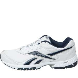 Reebok Mens Neche DMX Ride Training Shoes White/Navy/Silver £19.99  + £4.49 delivery @ MandM Direct