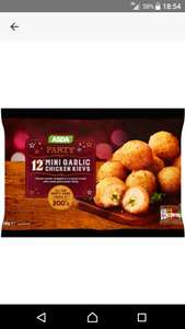 12 mini garlic kievs instore @ asda Woodchurch / wirral