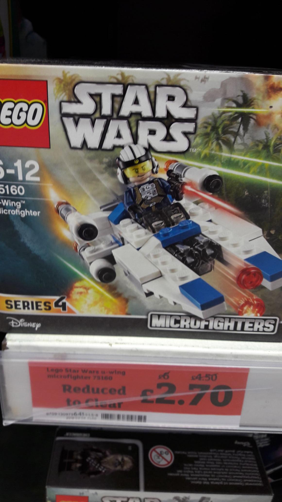 LEGO 75160 U Wing Microfighter - £2.70 instore @ Sainsbury's (Birchills)