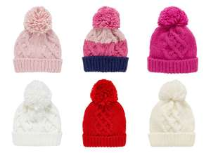 Kids Beanie Hats and Knitted Scarfs for £2 @ Mothercare (Free C&C)