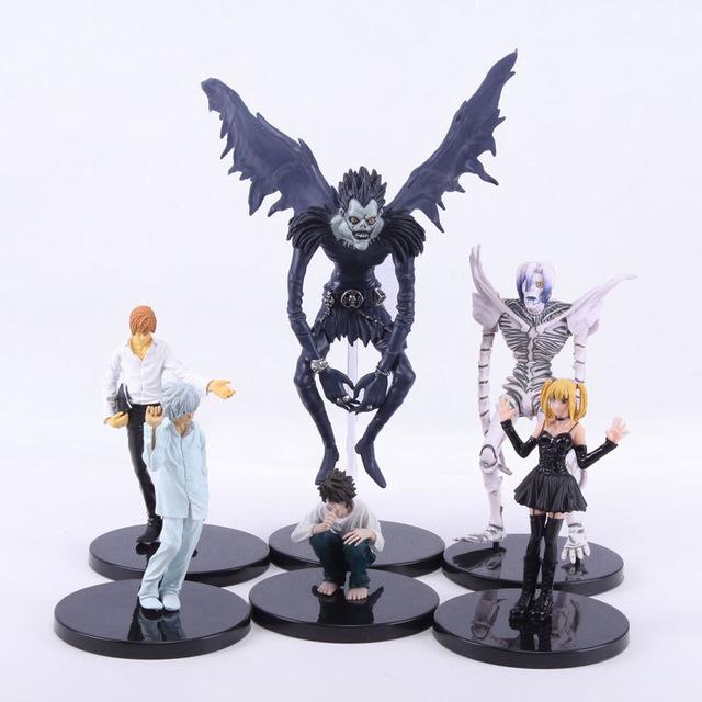 Death Note Complete Figure Set (L, Ryuk, Rem, Light Yagami, Misa Amane, Near) £13.60 delivered @ Ali Express (Qidian Store)