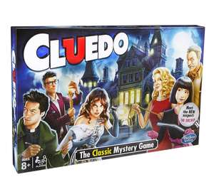 Cluedo The Classic Mystery from Hasbro Gaming , £15 @ tesco ..free c&c