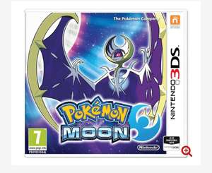 Pokemon Moon 3DS Game, £24.69 w/(1235 player points) .. delivered @ 365games