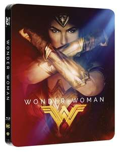 Wonder Woman (hmv Exclusive) Limited Edition Steelbook Includes 2D and 3D £14.99 @ HMV