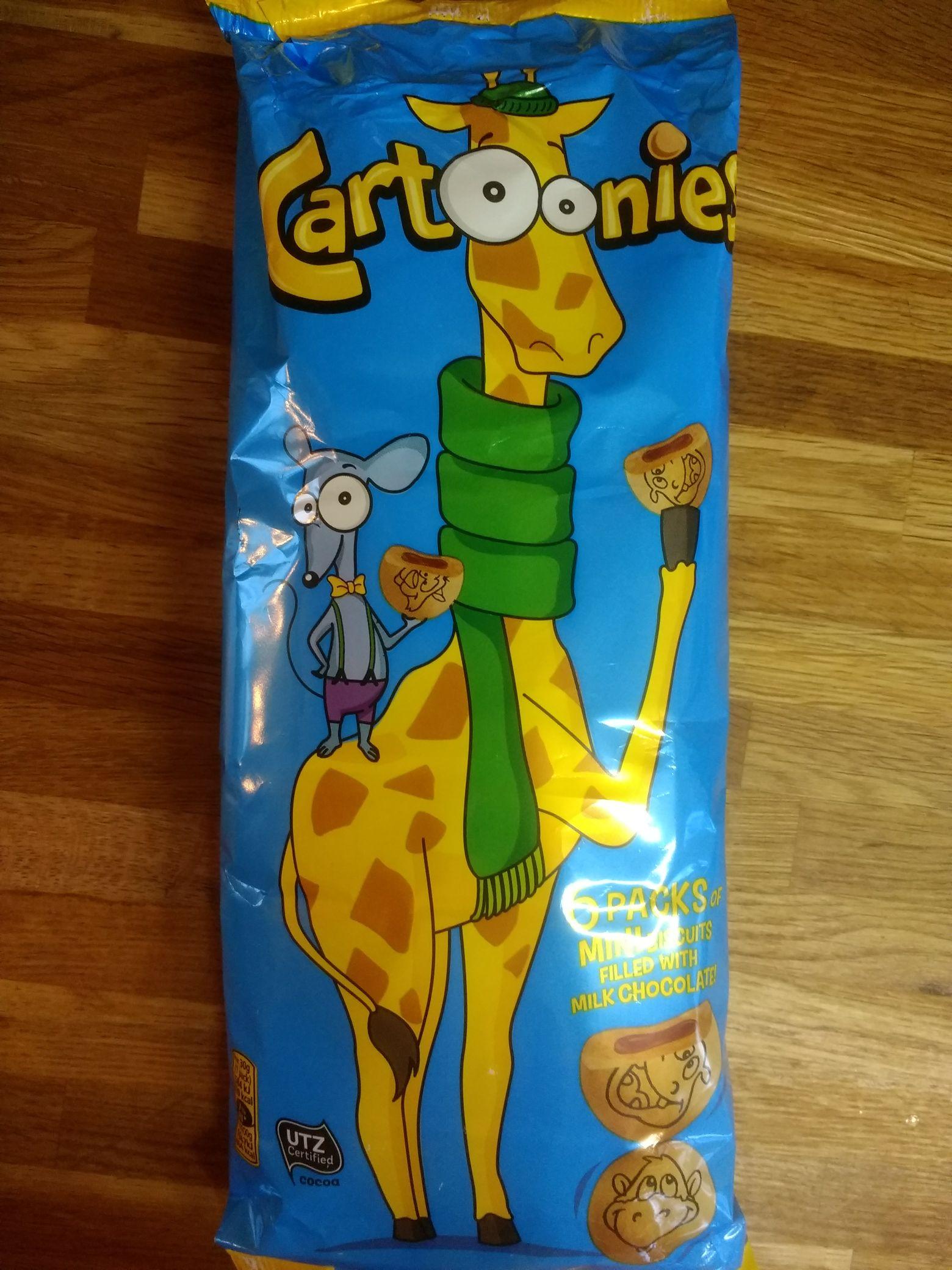 Cartoonies 89p in store Home Bargains