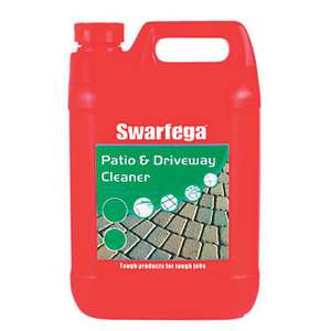 SWARFEGA PATIO & DRIVEWAY CLEANER 5LTR - £5.99 at Screwfix