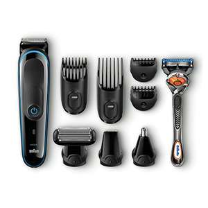 Braun 9-in-1 Precision Trimmer with Gillette Fusion ProGlide Razor MGK3080 (Black/Blue) - was £52.49 now £29.99 @ Amazon