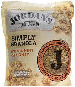 Jordans Simply Granola, 750 g, Pack of 4 - £8 at Amazon - Prime Exclusive
