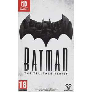 BATMAN THE TELLTALE SERIES - Nintendo Switch - £22.95 @ thegamecollection