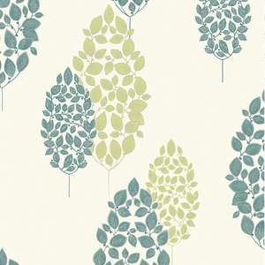 Superfresco washable lucy* teal wallpaper now £3.25 a roll @ Wilkinson's online