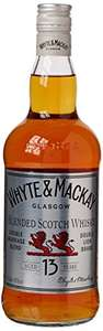 Whyte and Mackay 13 year old blended scotch whisky 70cl £15 prime / £19.75 non prime @ Amazon