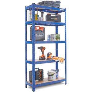 VonHaus 875kg Heavy Duty Shelving  £18.99 (free c+c) @ Tesco Direct (Sold by Domu)