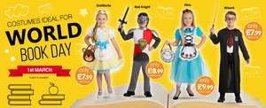 world book day costume now £3.99 in-store b&m