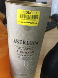 Aberlour a'bunadh Scotch Whisky £24.99 @ Waitrose - Ringwood
