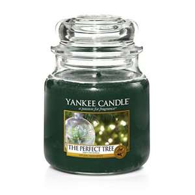 Yankee Candle-Medium 'The Perfect Tree' Christmas scented jar candle £8 at Debenhams