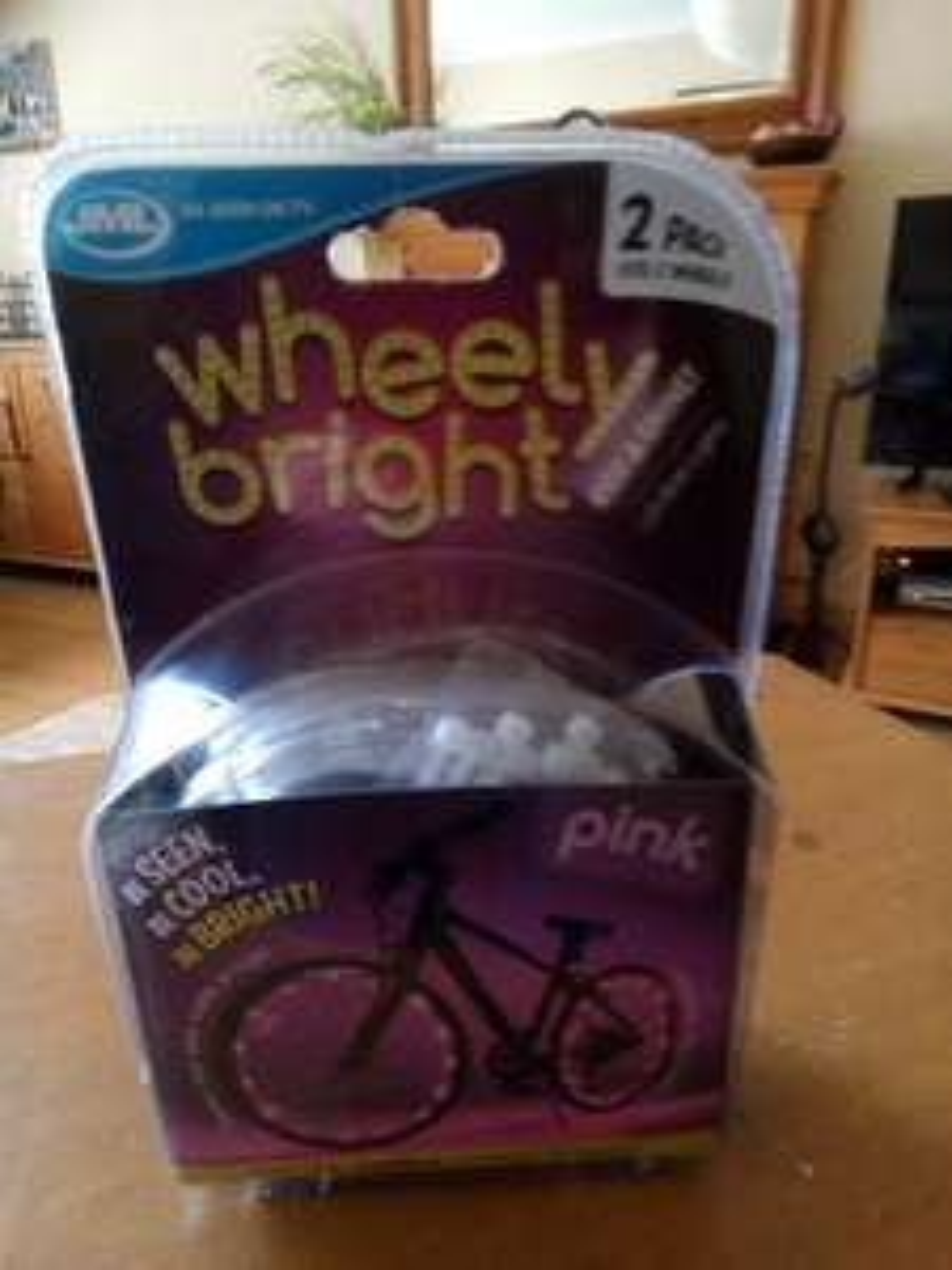 Jml Wheely Brights tyre lights..Wilko instore was £10.00