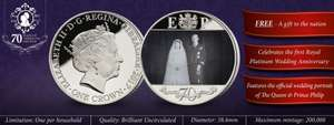 FREE Royal Coin from The London Mint - £2.50 p&p
