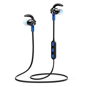 Bluetooth 4.1 Wireless, Noise cancelling with microphone Sports Headphones only for £18.99 prime / £22.98 non prime Sold by OneOdio and Fulfilled by Amazon