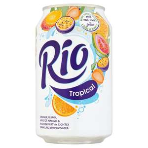 From 12/03 Costco 72 Cans of Rio for £15.09