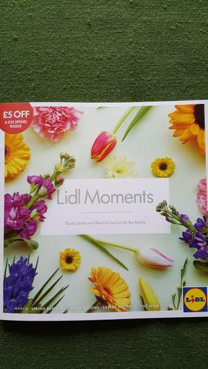 £5 off £35 spend at Lidl (via brochure)
