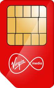 Virgin media customers sim deal - 1500mins Unlimited text 2gb data For £5 (retention)