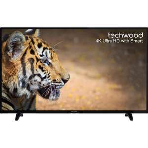 "Techwood 55AO6USB 55"" Smart 4K Ultra HD TV and Freeview Play - Black - [A+ Rated] £349 @ AO"
