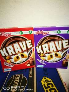 Kelloggs krave cereal £1 @ Heron