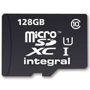 Integral 128GB Ultima PRO Micro SD Card (SDXC) UHS-I U1 + Adapter - 90MB/s  £23.74 Mymemory with code