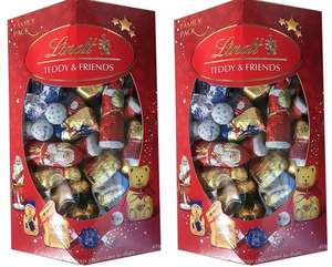 2 x Lindt Lindor Teddy & Friends Family pack 400g Milk Chocolate gift box ebay - £8.99 @ masters_in_tech Ebay