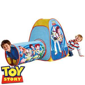 Toy Story play tunnel and tent £9.99 in store and online at home bargains