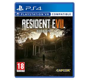 RESIDENT EVIL PS4 & VR COMPATIBLE - £14.99 @ Argos