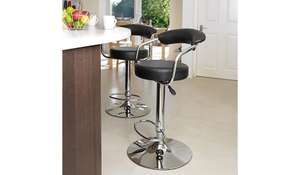 Galaxy faux leather breakfast bar stool £27.95 Delivered was £39 @ Asda