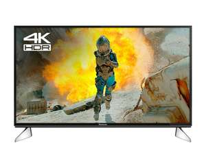 "Panasonic TX40EX600 40"" Smart 4K Ultra HD LED TV with HDR and A Energy Rating in Black £337 (additional £12off w/code EXTRA 12)) delivered @ Hughes"