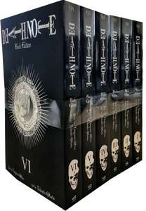 Death Note Manga Black Edition Volume 1-6 Collection £26.99 (+£2.99 delivery, unless spending over £30) at Snazal