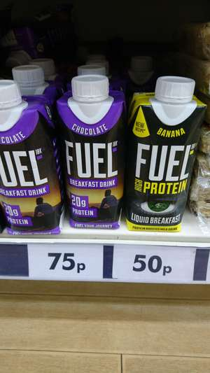 Fuel high protein breakfast drink @ PoundWorld - 50p
