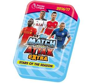 Match attax extra 2016/17 MEGA tin - £2.49 @ Argos