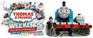 Up to half price tickets available for Thomas & Friends™ Weekends at Drayton Manor Park