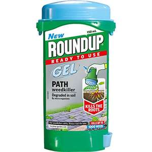 Roundup Gel Path and Drive Weedkiller, 150ml £2.56 amazon add on item minimum 20 pound spend applies