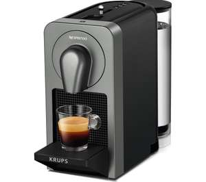 NESPRESSO By Krups Prodigio XN410T40 Smart Coffee Machine £75.97 @ Currys